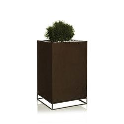 Vela Cubo Alto | Macetas plantas / Jardineras | Vondom