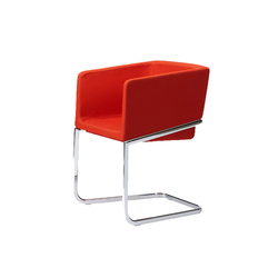 Tonic armchair cantilever | Visitors chairs / Side chairs | Rossin
