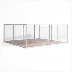 Cristal Box 4 | Gazebo da giardino | GANDIABLASCO