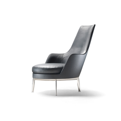 Guscioalto Armchair | Lounge chairs | Flexform