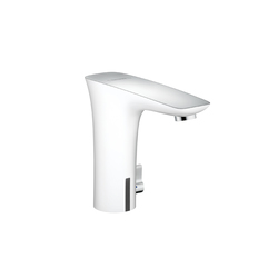 Hansgrohe PuraVida Electronic Basin Mixer DN15 with temperature control battery operated | Wash-basin taps | Hansgrohe