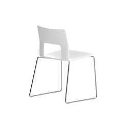 Kobe sledge chair | Multipurpose chairs | Desalto