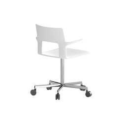 Kobe 5 star chair with arms | Sillas de oficina | Desalto