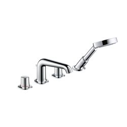 AXOR Bouroullec 4-hole rim-mounted bath mixer DN15 | Bath taps | AXOR