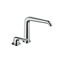 AXOR Bouroullec 2-hole basin mixer 195 without pull rod DN15 | Wash-basin taps | AXOR