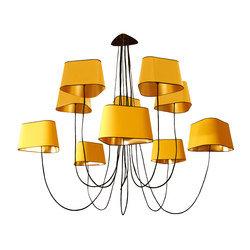 Nuage Chandelier 10 large | Ceiling suspended chandeliers | designheure