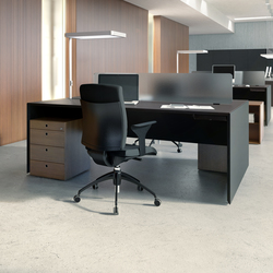 Quaranta5 Black | Systèmes de tables de bureau | Fantoni