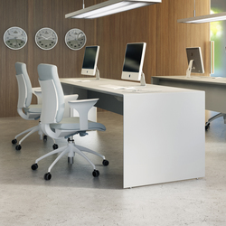 Quaranta5 Grey | Systèmes de tables de bureau | Fantoni