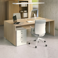 Quaranta5 Oak | Executive desks | Fantoni
