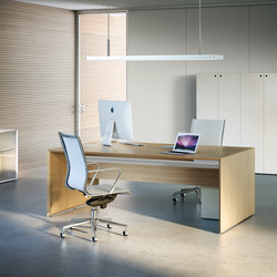 Quaranta5 Oak | Desks | Fantoni