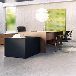 Quaranta5 Teak | Executive desks | Fantoni
