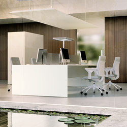 Quaranta5 White | Tischsysteme | Fantoni