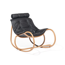 Wave rocking chair | Poltrone | TON