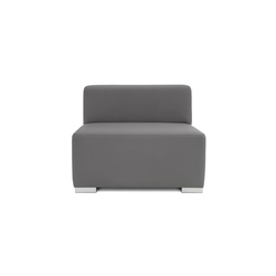 Block 90 1,5 Seat | Modular seating elements | Design2Chill