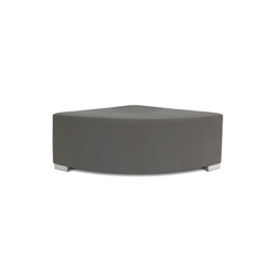 Block 90 Hocker round 1/4 | Pouf | Design2Chill