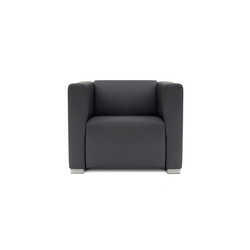 Square 1 Seat with 2 arms | Sessel | Design2Chill
