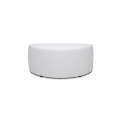 Square Hocker 90 half round | Poufs | Design2Chill