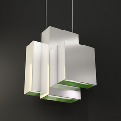 Blox Suspended Lamp | General lighting | Quasar