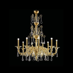 Baikal | Ceiling suspended chandeliers | Barovier&Toso