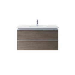 Darling New - Vanity units with integrated console | Vanity units | DURAVIT