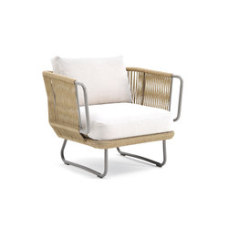 Babylon lounge chair | Garden armchairs | Varaschin