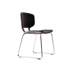 Babylon modern woven chair | Multipurpose chairs | Varaschin
