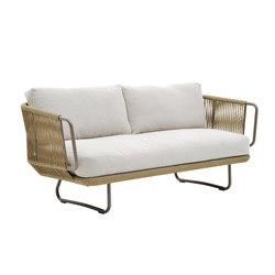 Babylon sofa with woven synthetic fiber | Garden sofas | Varaschin