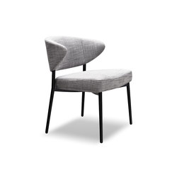 Mills Low | Visitors chairs / Side chairs | Minotti