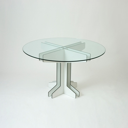 Grid Cafe Table | Mesas para restaurantes | Miranda Watkins