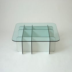 Grid Parallel Table | Mesas de centro | Miranda Watkins