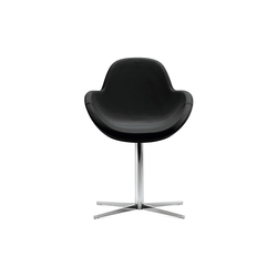 Darling 1 swivel armchair | Chaises de restaurant | Frag