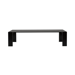 Metallico black | Meeting room tables | Porro