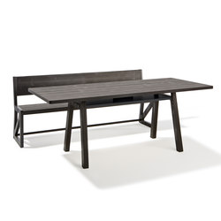 Stijl table and bench | Tables and benches | Lampert