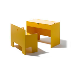 Wonder Box table and bench | Zona para niños | Lampert