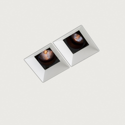 Down in-Line 80 directional double | Recessed ceiling lights | Kreon