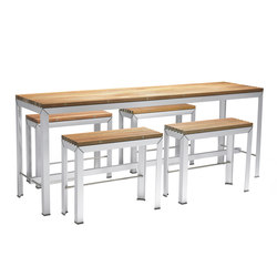 Extempore high table | Garten-Bartische | extremis
