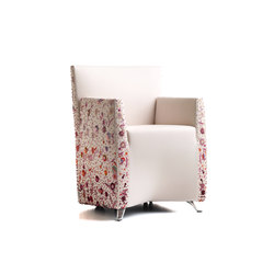 Aura armchair fiorita | Chairs | Baleri Italia by Hub Design