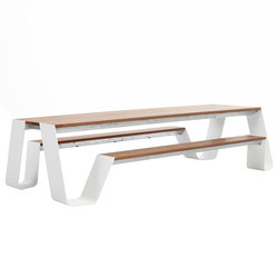 Hopper table | Garten-Esstische | extremis