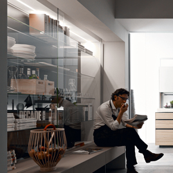 Living Mirus | Display cabinets | Valcucine