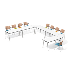 Lacrosse III 6330/63 | Seminar table systems | Casala