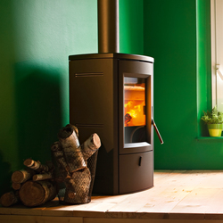 Nogal | Wood | Wood burning stoves | MCZ