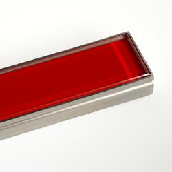 CeraLine Glas rot | Duschabläufe / Duschroste | DALLMER