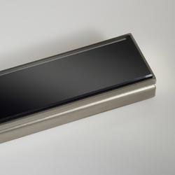 CeraLine glass black | Sumideros para duchas | DALLMER