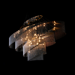 Elliptical Nebula 1600x600 | Ceiling suspended chandeliers | Willowlamp