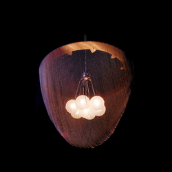 Custom Pod Pendant Lamp - 800 | Suspended lights | Willowlamp