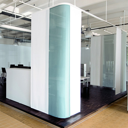 Folding Panel System Silent Gliss 2760 Flex | Partition wall systems | Silent Gliss