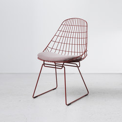 wire chair sm05 - restaurant chairs from pastoe | architonic