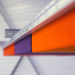 Abso acoustic pads | Acoustic ceiling systems | Texaa®