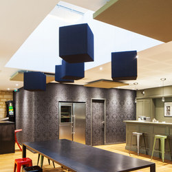 Abso acoustic cubes | Suspended panels | Texaa®