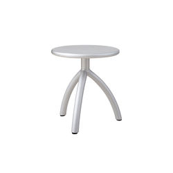 Stool silver | Tabourets | Functionals